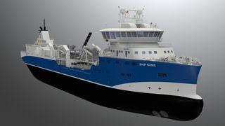 Ny brønnbåt skal produsere strøm fra varmen i eksosen og kjølevannet