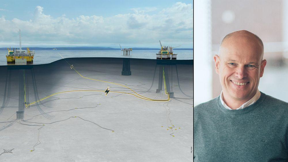 Equinor har levert utbyggingsplan fort elektrifiseringen av Troll B og C, som vil kreve 116 MW. Konserndirektør Arne Sigve Nylund mener det er opp til departementet, Statnett og NVE og se på totalbehovet for kraft i bergensområdet.