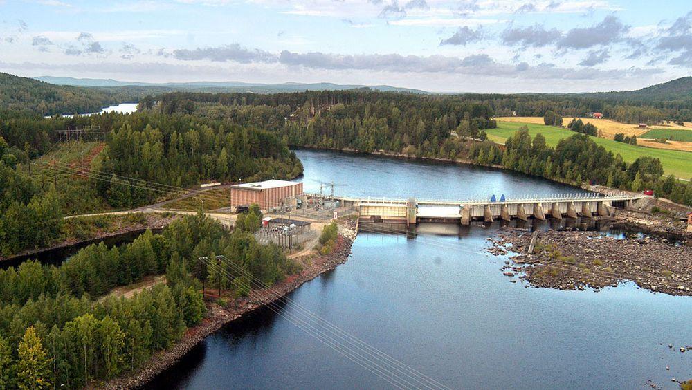 Landafors kraftverk i Gävleborg.