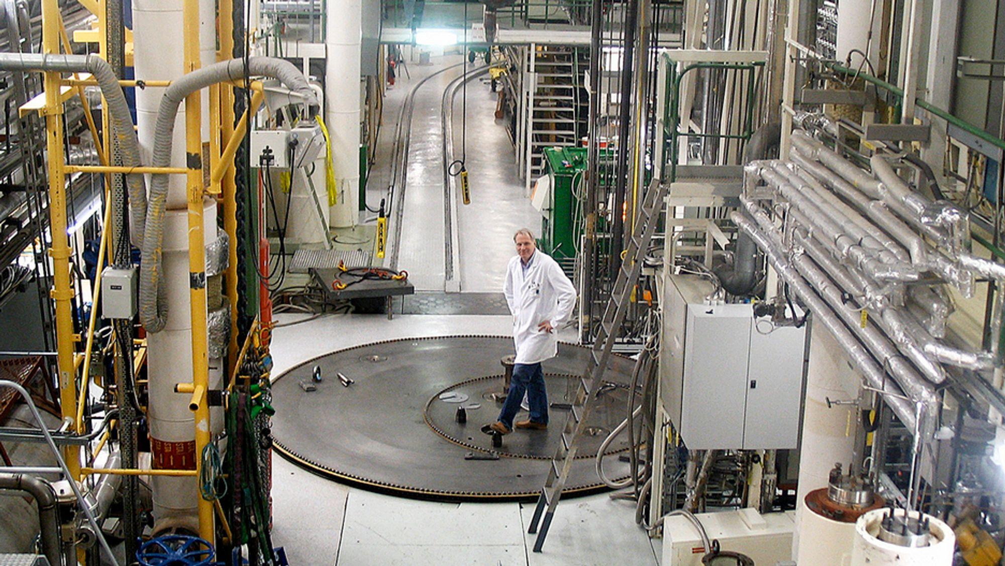 Strålevernet fører tilsyn med alle strålekilder innen medisin, industri og forskning. Det gjelder blant annet Halden-reaktoren (bildet). Foto: IFE