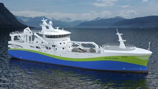 Nyvinning: «Selvåg Senior» blir for tiden bygget med teknologi som ifølge utviklerne ikke er brukt på fiskefartøy tidligere.