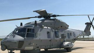 For første gang på over et år har et nytt norsk NH90 fløyet