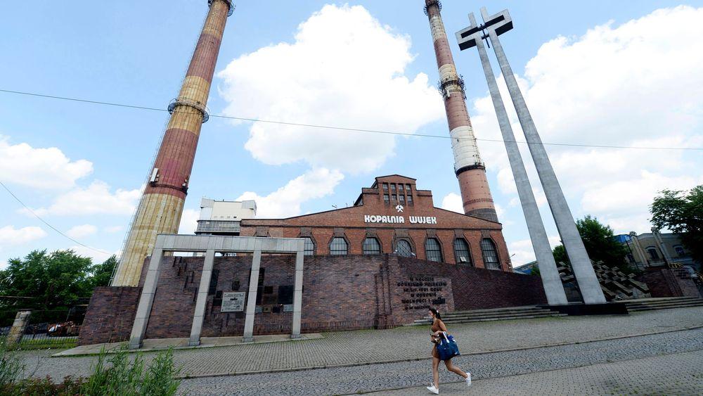 Innen 2049 er det slutt for kullgruvene i Polen. Bildet er fra en nedstengt kullgruve i Katowice.