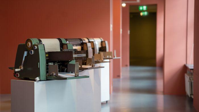 Gestetener-maskinen var designlegenden Raymond Loews første industridesign.