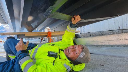 Etter et langt liv på havet pensjonerte Frank Ole seg – og ble elbåt-gründer