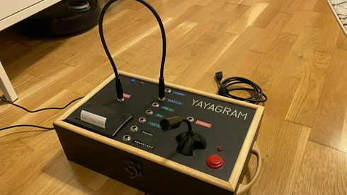 Yayagram – «selvsnekret» enhet for kommunikasjon med Telegram-tjenesten.