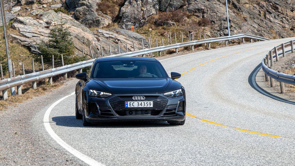Audi E-Tron GT er en av Audis elbiler.