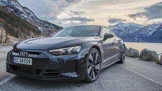 Test av Audi E-Tron GT.