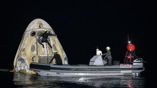 SpaceX skrev romfartshistorie med landingen natt til søndag