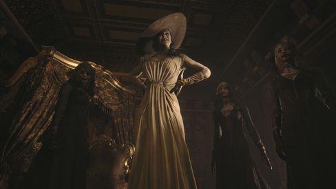 Lady Dimitrescu i Resident Evil Village