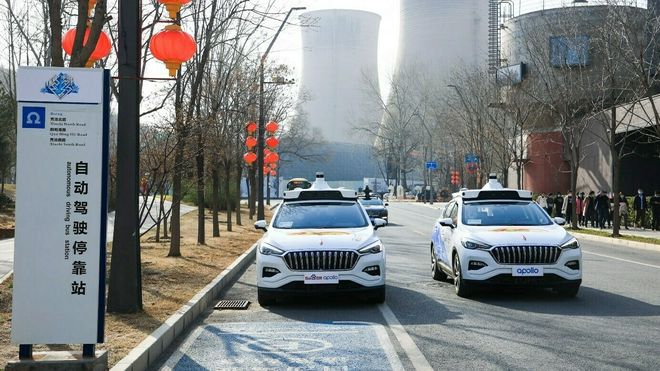 Nå kjører de førerløse drosjene i Beijing – 30 byer skal følge etter innen tre år