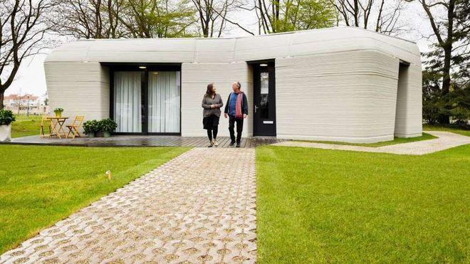 Nå er den første 3D-printede boligen tatt i bruk