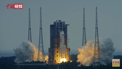 Fare for at deler av kinesisk romrakett faller ned på jorden