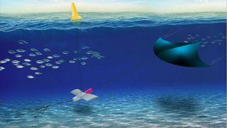 Nå utvikler SRI International et tidevannskraftverk basert på en undervannsdrage.