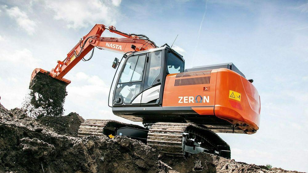 Larvik-baserte Nasta er i ferd med å bygge om gravemaskiner fra diesel til elektrisk drift.