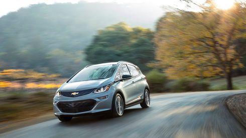 Chevrolet Bolt er en av de amerikanske elbilene. Hver femte elbilkjøper i California i perioden 2012–18 gikk imidlertid tilbake tli gammeldags bil, viser en ny undersøkelse.