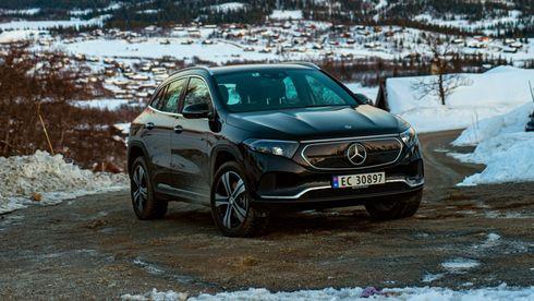 Mercedes-Benz EQA: Overlegen på hurtiglading, men hvorfor er den ikke mer romslig?