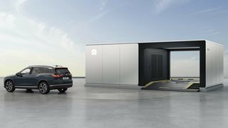 Nio skal etablere batteribyttestasjoner i Norge i år.