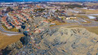 Fire millioner kroner til styrket bemanning i NVE etter Gjerdrum-skredet