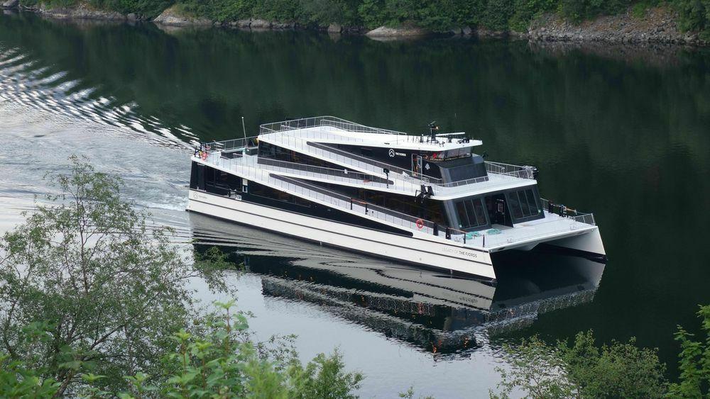 Legacy of the Fjords ble satt i drift i juli 2020.