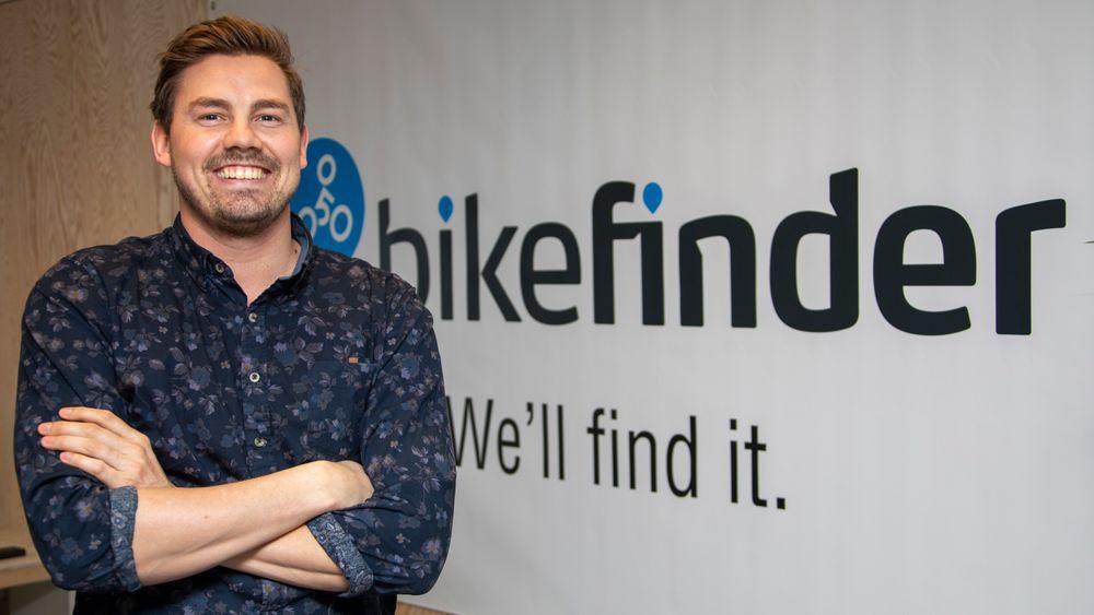 – Vi har fulgt stjålne sykler ned gjennom Europa på appen. I en trailer som ble stoppet av politiet, fant de et tredvetalls stjålne sykler. I tillegg til den som inneholdt vår sporingsenhet, sier Ole Martin Ølmheim.