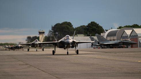 F-35 til Frankrike for å bli flinkere til å samarbeide med Rafale og Eurofighter