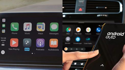 Apple CarPlay og Android Auto