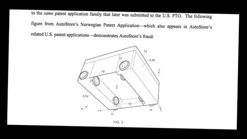 Hevder denne figuren viser at norsk selskap bedro amerikanske patentmyndigheter