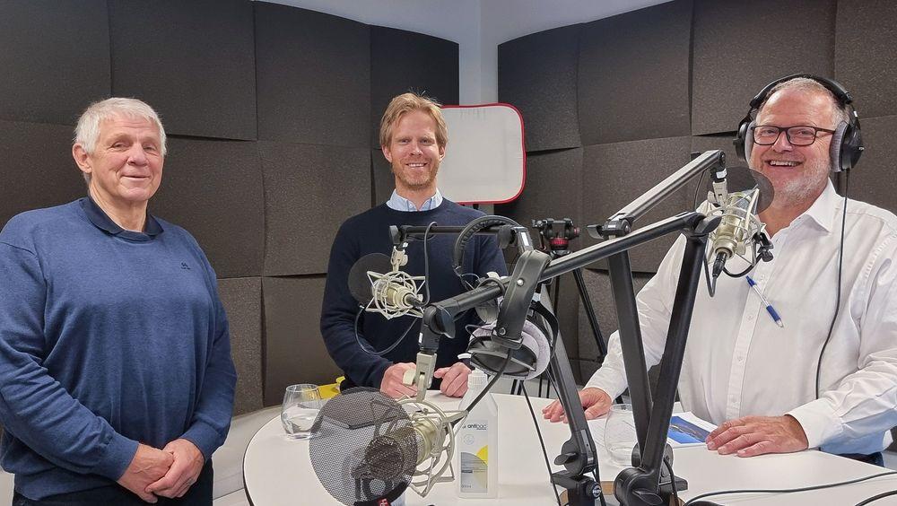 Mr. Foil: Petter Mørland Pedersen vil bygge en helt ny type undervannsvinge for å redusere energiforbruket til hurtiggående båter opptil 80 prosent.
