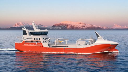 Tre familieeide oppdrettsselskap i Sør-Troms har kontrahert denne brønnbåten med 2 800 m3 lastekapasitet, og planlagt levering andre kvartal 2023.