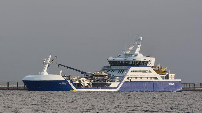 «Ro Arctic» fra 2014 var Rosteins første skip med elektrisk hovedmotor.