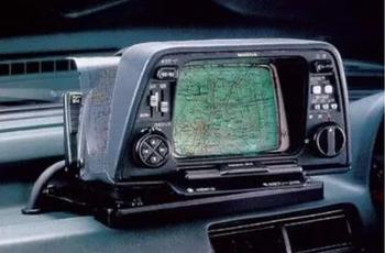 I 1981 kom Honda med Electro Gyro-Cater, og viste vei ved hjelp av gassgyroskop.