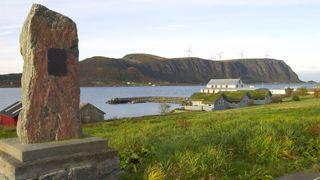 Slik ser utbygger Zephyr for seg at Haramsøy blir seende ut når vindkraftprosjektet er ferdig utbygd.