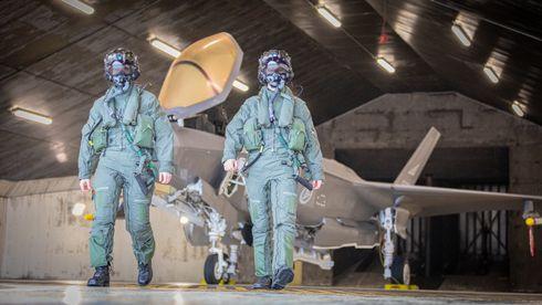 Luftforsvaret bekrefter: Leveransen av nye F-35 rammes av pandemien