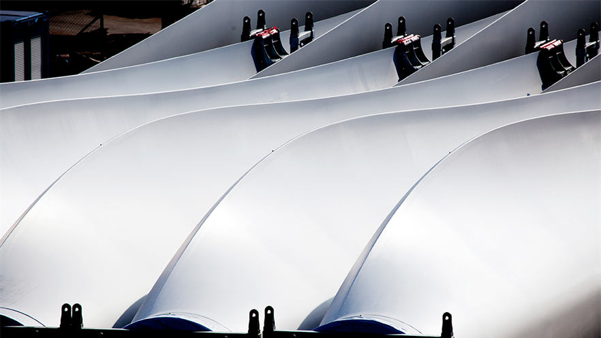 Vestas ønsker å gjenvinne komposittmaterialer i vindkraft-turbiner. Foto:  Frank Boutrup Schmidt/Vestas