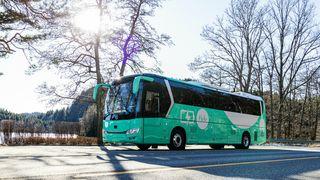 Transportselskapet Tides nye turbuss er en av Norges første som er helelektrisk.