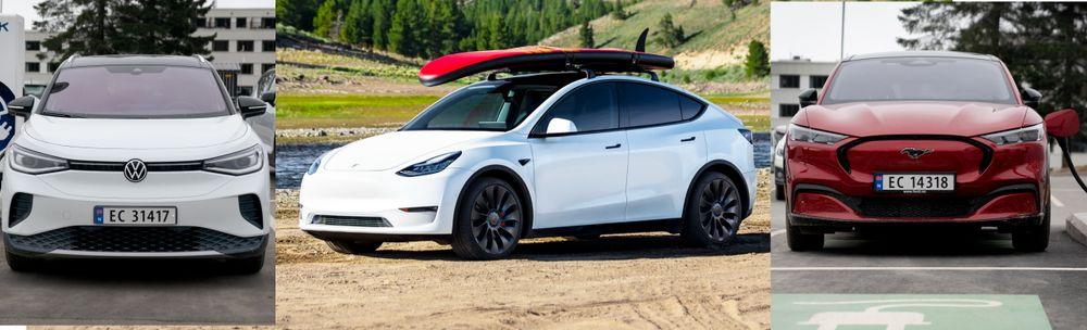 Volkswagen ID.4, Tesla Model Y og Ford Mustang Mach-E er alle biler som kan vise seg å bli konkurrenter til BMW iX3 – som er til dels mye dyrere, uten å tilby mer rekkevidde eller plass.