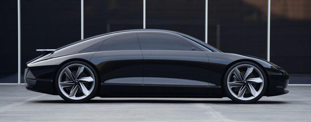 Hyundai Prophecy er konseptbilen som danner grunnlaget for Ioniq 6.