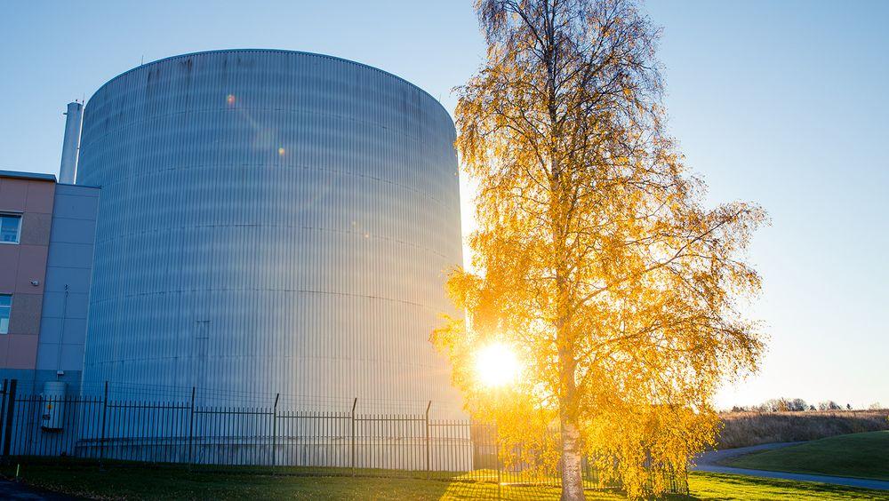 Her på Kjeller i Oslo ligger det norske uranet lagret.