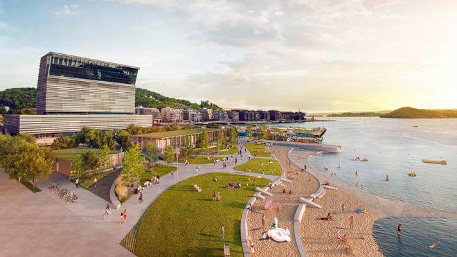 Bygger strand midt i Oslo: – Blant de vanskeligste oppgavene du kan ha