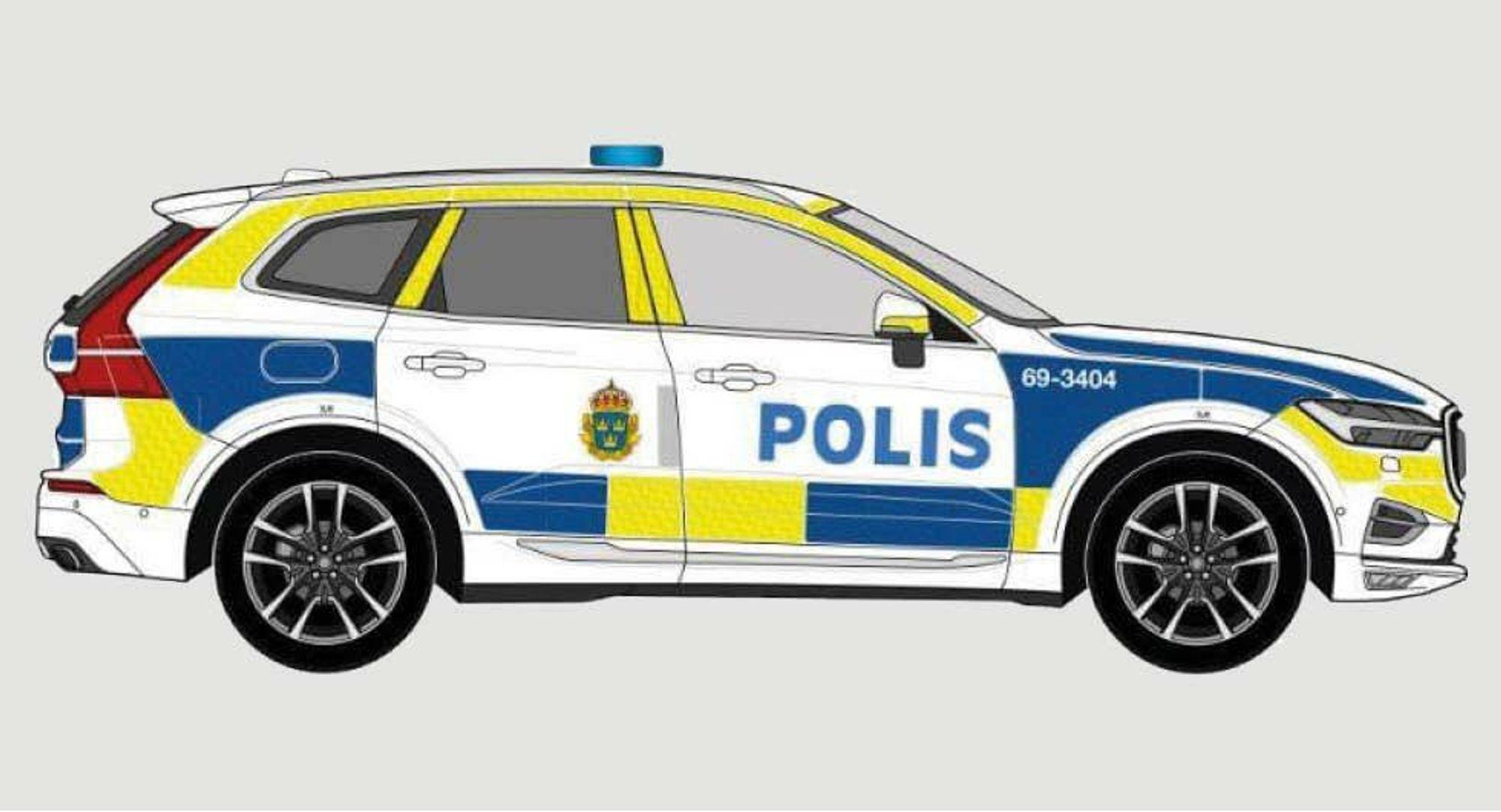 Størstedelen av bilparken vil bestå av spesialutrustede Volvo XC60, uten fartssperre.