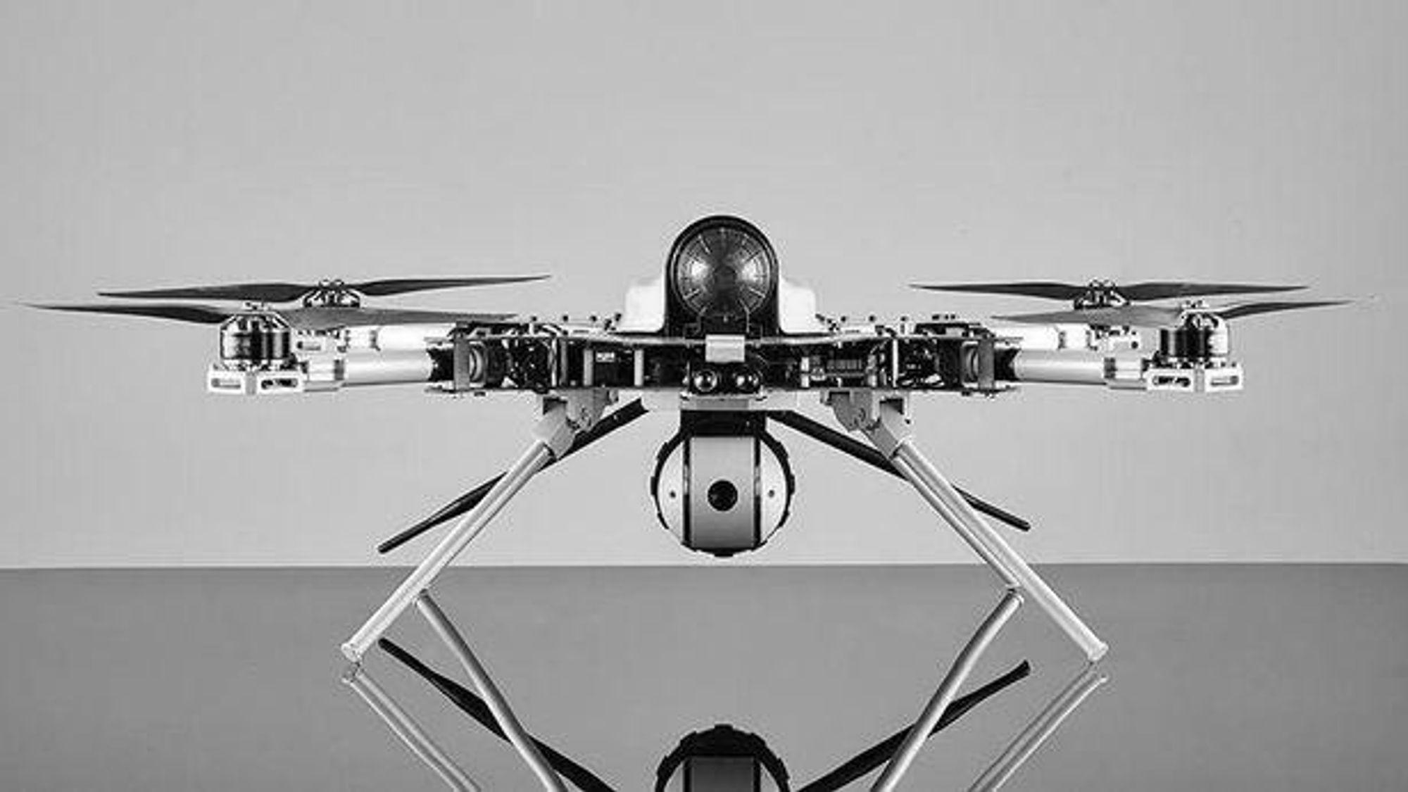 Kargu 2-dronen bruker kameraer og kunstig intelligens til å identifisere sine mål.
