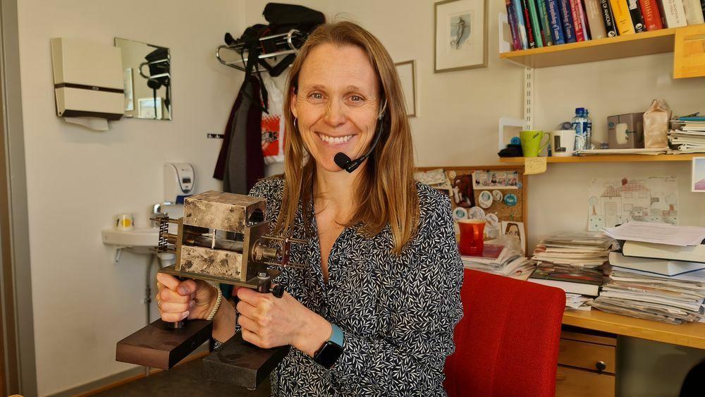Professor, gründer og tidligere Tekna-president Lise Lyngsnes Randeberg forteller hvordan hun håndterer en arbeidsmengde som få misunner henne.
