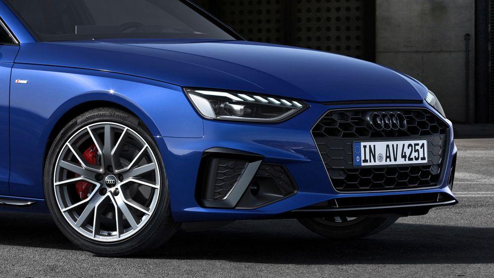 Dagens utgave av Audi A4 Avant. En elbilutgave skal være på vei sammen med lanseringen av en ny generasjon A4.
