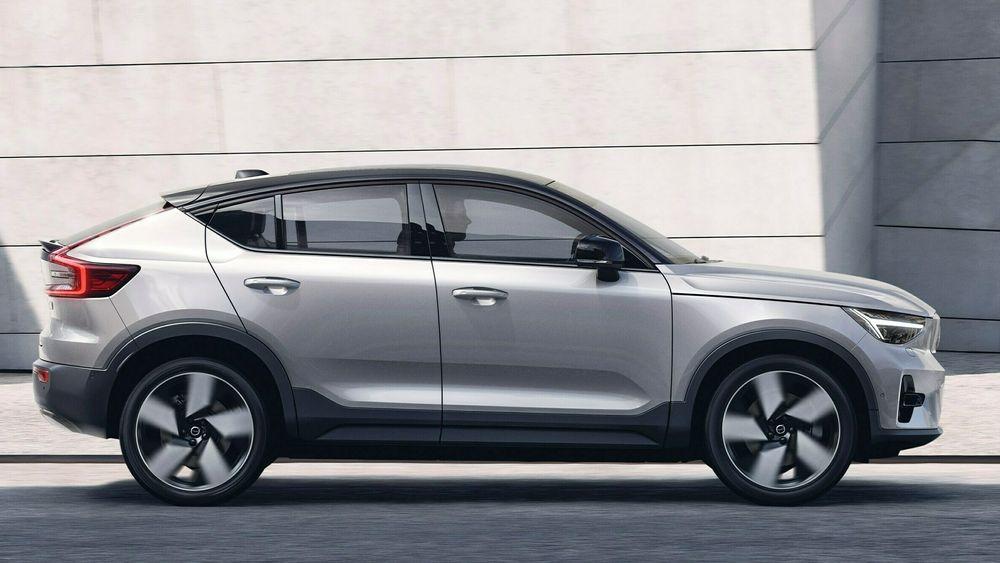 Volvo C40 er en noe redesignet utgave av XC40.