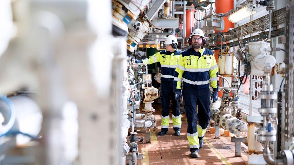 – Det var mange skeptiske innvendinger før elektrifiseringen. Man frykter jo det ukjente, sier driftsleder på Valhall, Christian Leiknes Tangen.