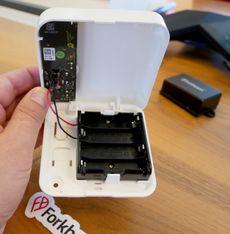 Ultrabeacon kombinerer Bluetooth Low Energy og ultralydsensor i én batteridrevet enhet.
