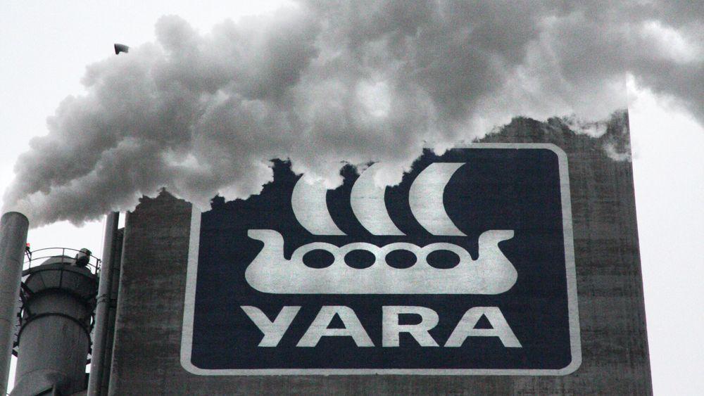 Yara er verdensledende på produksjon, logistikk og handel med ammoniakk.