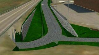 Her skal bygges nesten 1900 meter sykkelvei på og ved kvikkleire