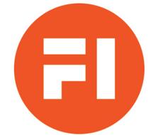 Fremtidens industri het tidligere Fosen innovasjon. Selskapet laget i 2019 denne logoen, som det har brukt siden.